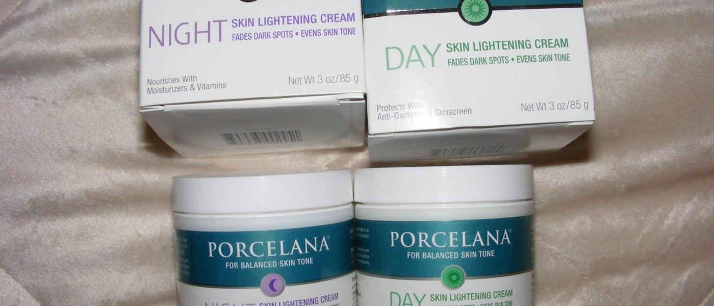 Porcelanaكريم تبيض الوجه