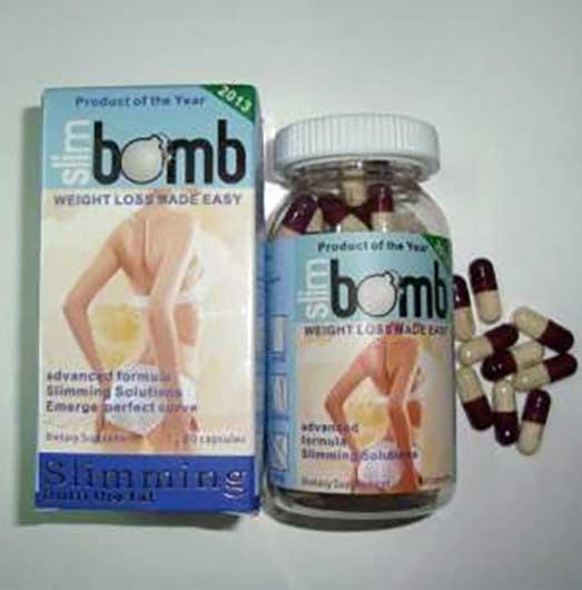 حبوب slim bomb